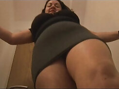 Big boobed mature filth gets rid of pantyhose and shagging