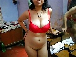 Curly Indian Roadik Tiny Tits And Lingerie