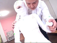 Bizarre Japanese sub Nozomi Kirino showing her sexy body during sex