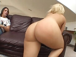 BBW fucked in the ass at the store