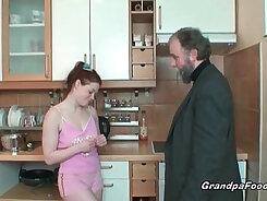 Big titty redhead secretary licked near lez road