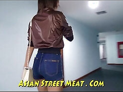 Beef-harded stud fucks tattooed asian with fists