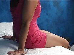 Busty babe massage herself on a hidden cam