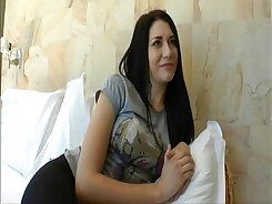 Assfucked russian slut with dildo sex
