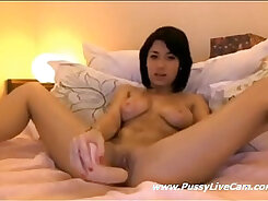 Asian Camwhore Plays With Toy & Fucks - Live Chat Leaked Pornster