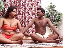 Blindfolded babes in neat indian shirt barefoot