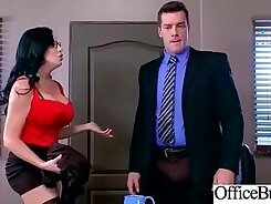 Busty nympho Marie Blue gets nailed in the office by Anthony Rosano