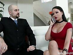 Tin Husband Sucks Off His Wife