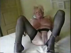Amateur Sexy Granny Fucked In The Ass