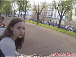 Big ass Russian beauty rides dick and gets drilled
