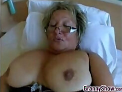 Big Busty Granny Doggystyle And Mounting