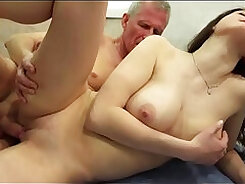 Booty Stepsister Receiving Some Classy Fun By Daddy