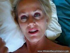 Big bottomed slut gets her huge tits eaten by a horny step mom