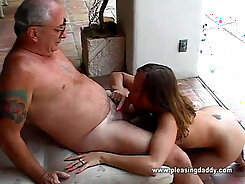 Chauncey and Exa tease each other deep throat shakes