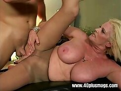 Busty pale mature cutie Alyssa Lee gets her pussy fucked