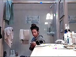 Candid By Tiny Teen Freaky Ass In Shower On Hidden Camera