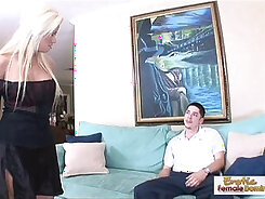 Blond so cute and sexy milf and boyfriend