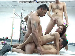 Bisexual group and young suck dick Latina Deepthroats on the Border