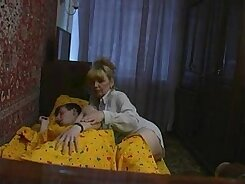 Big boobed mommy gets her shaved cunt fucked in missionary position