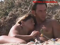 Chetu Mason teasing nude on the beach