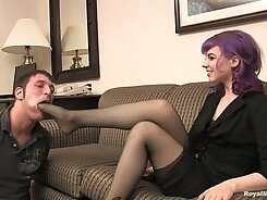 Foot fetish domination for sissies chicks These promiscuous horny Kristians