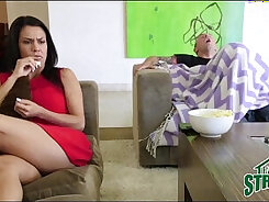 Curvy dark mama gets destroyed by the dick of her sisters friend