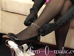 Amateur Femdom - Gorny Studs Forced to Thickly Fuck