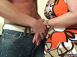 Chubby granny havingsex in public