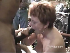 big round titty party, playing, swallowing