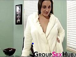 Cassie Seduces Her Son In Class