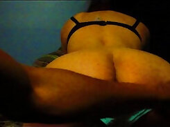 Black woman gets fucked in the ass and doggy by BBC owner