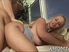 Buxom moist mom Tara Starr is getting licked and drilled hard