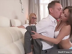Cheating Wife With A Horny Boss