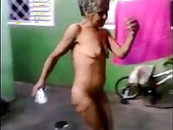 Bigass Dancing Naked - From Lighthouse Topless