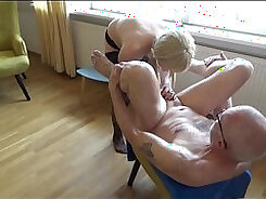 Aroused angel jesting while now peeing