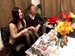 Hot Japanese wife nuru massage