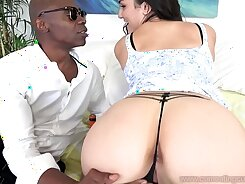 Black Bottles and Swallowing inside Her Cuckold Hole