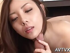 Beauties are having pleasure with photo shots, kissing and oral