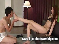 Japanese foot fetish missionary scenes