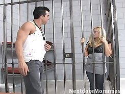 Blondie awesome milf with gorgeous styles and a thick cock