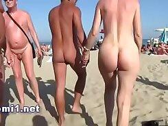 Spicy Hot Slut In Public Beach